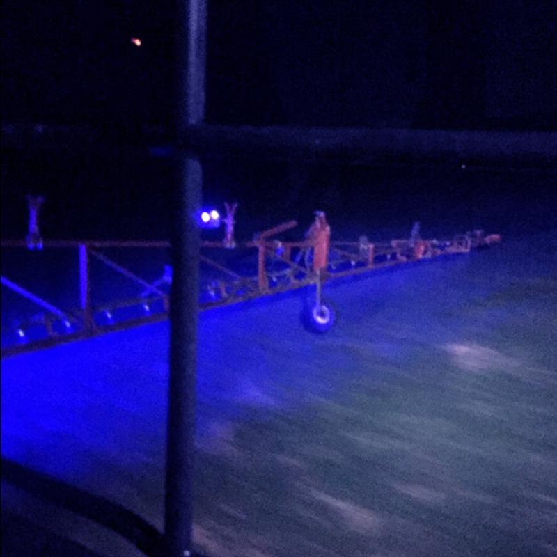 Agricultural Sprayer Lights Blue Led Boom Lights Hid